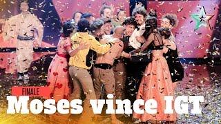 Moses è il vincitore di Italia's Got Talent 2016