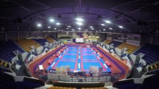 Ju Jitsu Setup At Planet Ice Coventry