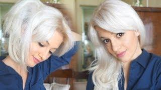 Como fazer a raiz dos cabelos platinados da maneira correta!