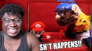 JEFFY POOPS HIS PANTS!   SML Movie: Jeffy Loses His Arms Reaction!