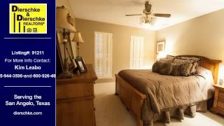 San Angelo Real Estate Home for Sale. $210,000 3bd/2ba. - Kim Leabo of dierschke.com