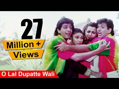 Xxx Mp4 O Lal Dupatte Wali 4K Video Song Govinda Chunky Pandey Aankhen 3gp Sex