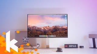 Mein neues Setup: LG 4K Monitor mit USB-C