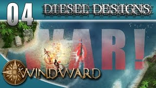 Let's Play Windward: EP04: WAR! Part.1 (Early Access 60FPS)