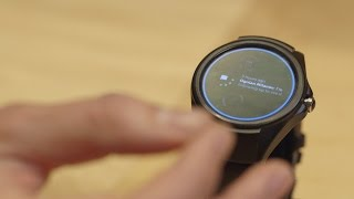 Google's smartwatch with radar for gesture control