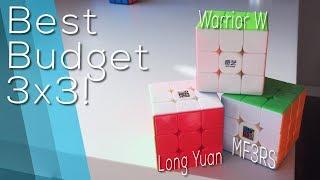 Best BUDGET 3x3! Kung Fu LongYuan vs. MF3RS vs. Qiyi Warrior W | Speedcube.com.au