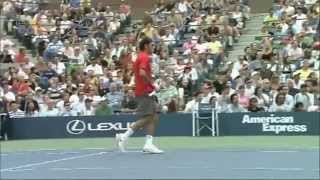 Roger Federer Shhh...Quiet Watch me Work (HD 720p)