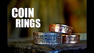 Metalworking and Blacksmithing - Coin Rings