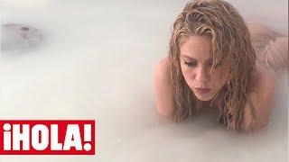 Shakira muestra los entresijos de su videoclip con Maluma