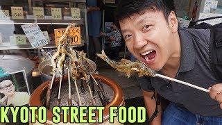 TRADITIONAL STREET FOOD & Tofu Hotpot in Kyoto Japan
