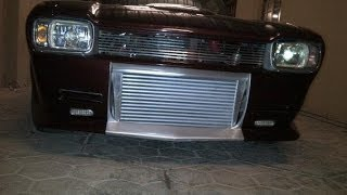 Ford Capri with 2JZ Supra Turbo Engine VS Mercedes E63 AMG