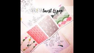 SCRAPBOOKING TuToRIaL,TaRjeTa Twist & Pop!!!! / ScrapDulceScrap