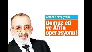 Ahmet KEKEÇ   Domuz eti ve Afrin operasyonu!