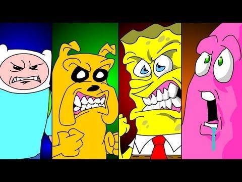 Spongebob vs Finn & Jake UCF ROUND ONE