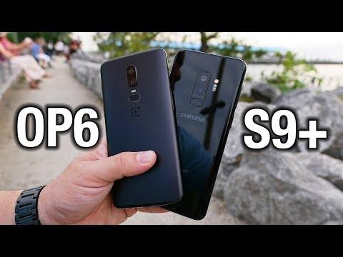 OnePlus 6 vs Samsung Galaxy S9 Flagship killed Pocketnow