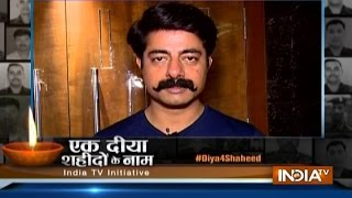 Diya For Shaheed: Actor Sushant Singh wishes happy diwali to Soldiers