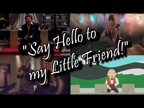 Say Hello to my Little Friend Compilation by AFX
