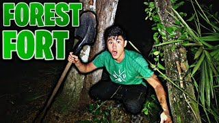 Forest Fort Challenge!