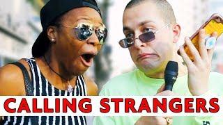 CALLING RANDOM PEOPLE IN STRANGERS