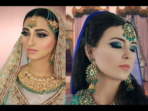 Indian,Asian,Arabic,Pakistani,Bengali Bridal Makeup for Wedding,Walima,Reception,Engagement,Mehndi