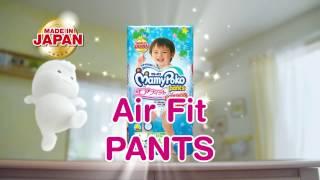 MamyPoko Air Fit Pants Action Star (35 secs)