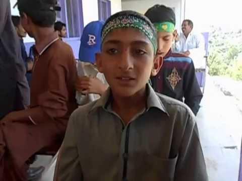 14 august celebrating in abbottabad village shahkot school.