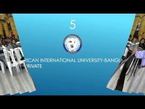 Top 10 Universities of Bangladesh in 2016