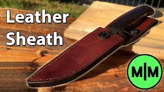 Lets Make - A Leather Sheath