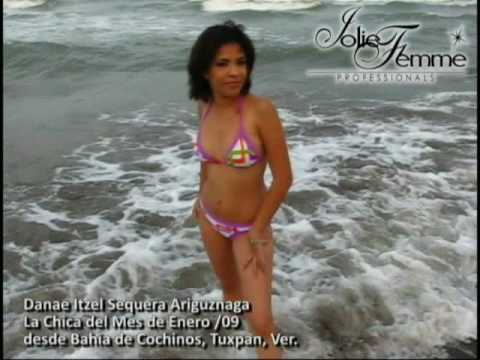 La Chica del Mes de Enero 2009 Tuxpan Veracruz