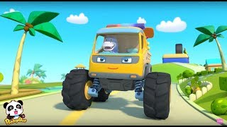 Monster Truck Patrol  | Baby Panda  Car Guardians | BabyBus