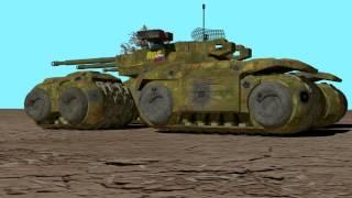 Mammoth Tank Mk.III by ValTN Industries
