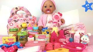 Qué llevar en la pañalera si te vas con tu bebé UN DÍA ENTERO fuera de casa Muñecos Bebé Nenuc