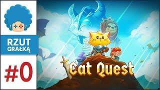 Cat Quest PL #0 - Rzut GRAłką! | Koteły miażdżące smokeły
