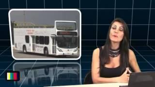 Marcopolo lança ônibus de 2 andares