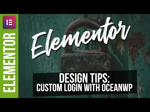Xxx Mp4 Custom Login Pages With Elementor Pro OceanWP 3gp Sex