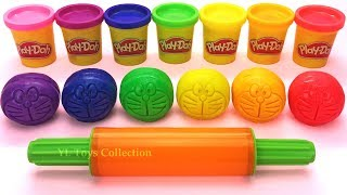 Learn Colors with Play Doh Doraemon and Ocean Tools Octopus Cookie Molds Surprise Toys LOL Pets
