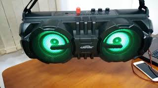 Мощная сабвуферная портативная колонка Cafini S198
