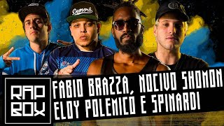 Ep.103- Fabio Brazza, Nocivo Shomon, Eloy Polemico & Spinardi -