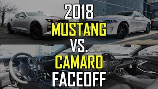 2018 Ford Mustang GT vs. 2018 Chevy Camaro SS: Faceoff Comparison