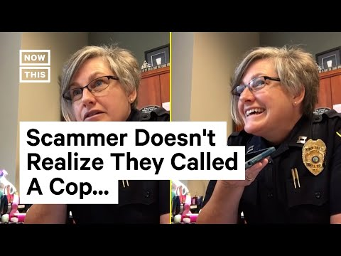 Phone Scammer Gets Scammed by Police Captain