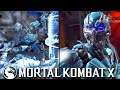 "PLAYING CYBER SUB-ZERO FOR THE FIRST TIME IN A WHILE - Mortal Kombat X: ""Cyber Sub-Zero"" Gameplay"