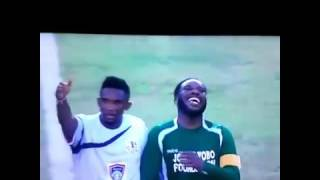 Watch Jay jay okocha Magic Moments at Joseph yobo's testimonial match