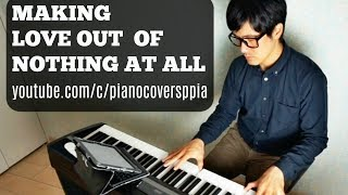 Making Love Out of Nothing at All-Air Supply - 渚の誓い (エア・サプライの曲) PIANOCOVERSPPIA