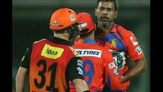 Praveen Kumar Gets Angry On David Warner | IPL T20 2016 | SRH Vs GL