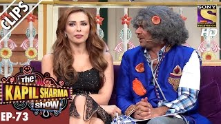 Iulia Vantur asks Dr. Mushoor Gulati to sit by her Side - The Kapil Sharma Show – 8th Jan 2017
