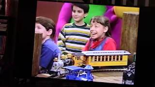 """Barney & Friends - Barney's All Aboard for Sharing"" VHS  (1995)"