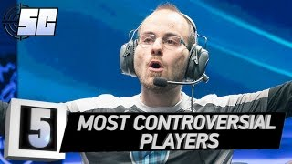 5 Most Controversial LoL Players | LoL eSports