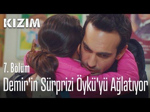 Demir'in sürprizi Öykü'yü ağlatıyor - Kızım 7. Bölüm