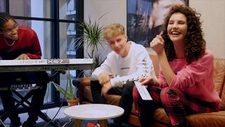 ONE WORD CHALLENGE with HRVY and SHALISA
