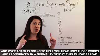How to Learn English with Songs and Music ✔